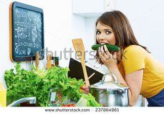 stock-photo-woman-cooking-with-fun-kitchen-237864961.jpg (450×316)