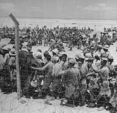 German and Italian POWs captured by the British 8th Army, Egypt 1942