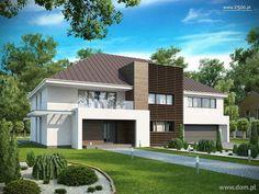 DOM.PL™ - Projekt domu SZ5 Zx20 v2 CE - DOM OZ8-27 - gotowy projekt domu