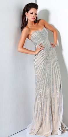 Jovani 4343  Timeless, this will never go out of style.