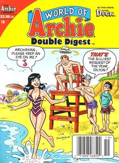"Read ""World of Archie Double Digest by Various available from Rakuten Kobo. Dilton in Vidiots Delight Boy genius Dilton puts his imagination to the video gaming test as he tries out his new intera. Archie Comics Characters, Archie Comic Books, Female Characters, Old Comics, Vintage Comics, Bulldogs, Double Digest, Archie Comics Riverdale, Dan Decarlo"