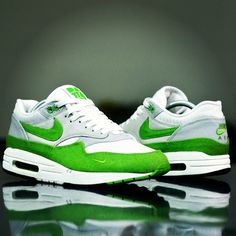 Air Max 1 Patta Chlorophyll by @foshizzles