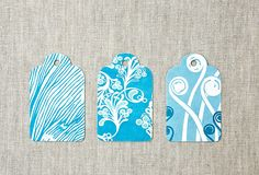love these colors & patterns ... even a simple block print or potato print would work. (not a tutorial)