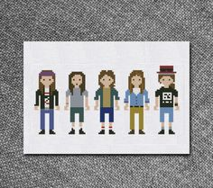 Cross Stitch Pattern Pearl Jam Rock Band Instant by Kiokiz on Etsy
