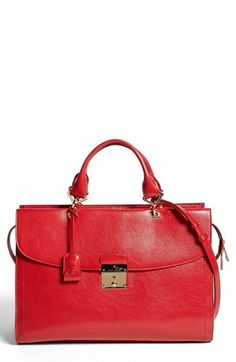 MARC JACOBS '54 - Mini' Leather Satchel available at #Nordstrom