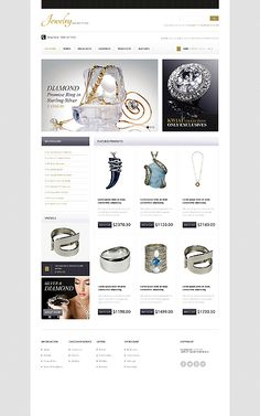 Design eats time... Get Template Espresso! That's OpenCart #template // Regular price: $90 // Unique price: $2500 // Sources available: .PSD, .PNG, .PHP, .TPL, .JS #OpenCart #Shop #Store #Jewelry #Jewels #Rings #Bracelets #Necklaces