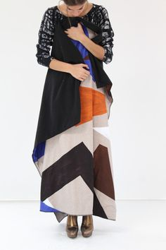"Double sided fleece, super soft and warm throw blanket in Jokull print. 55"" x 55"" We love this! Made in France"
