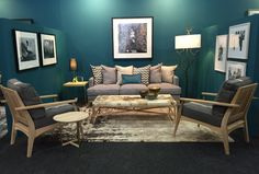 FNB Private Wealth Lounge.  FNB Joburg Art Fair 2015.  By EBONY. Art Fair, Wealth, Love Seat, Lounge, Couch, Projects, Furniture, Home Decor, Airport Lounge