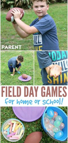 Field Day Games for Kids of All Ages (Including Adults!) - Field Day Games – Planning a field day can be a fun way to bring the family or school together! Camping Ideas For Couples, Camping Games For Adults, Water Games For Kids, Games For Teens, Summer Activities For Kids, Summer Kids, Sports Day Games For Adults, Summer School, Relay Games For Kids