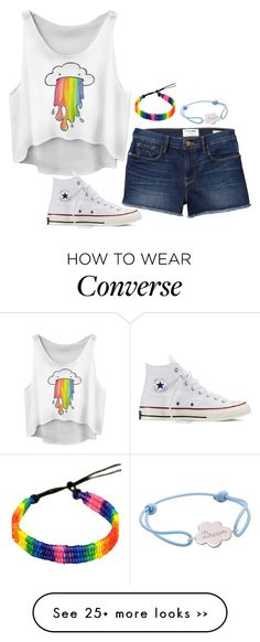 """Unbenannt #3094"" by hitthisfeeling on Polyvore featuring moda, Converse e Merci Maman"