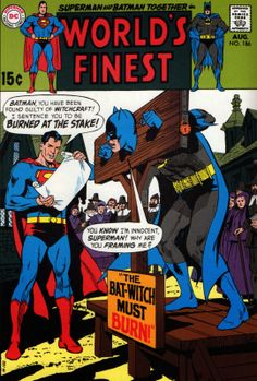 World's Finest #186 Carmine Infantino, inks by Neal Adams