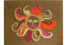 Retro Sun Needlework on OneKingsLane.com