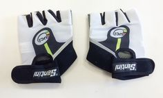 2017 La Vuelta a Espana Asturias Summer CYCLING GLOVES Made in Italy by Santini