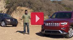 2014 Jeep Grand Cherokee EcoDiesel vs 2013 Volkswagen Touareg - http://suvlive.com/2014-jeep-grand-cherokee-ecodiesel-vs-2013-volkswagen-touareg/ COMMENT.