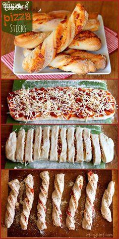Pizzowe paluszki
