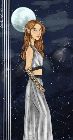 Feyre! art by camisala01-art on tumblr