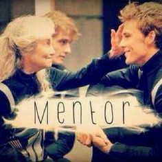 """Mags in Hunger games """"She was his mentor"""" -Joanna Mason to Katniss Everdeen in Catching Fire"""