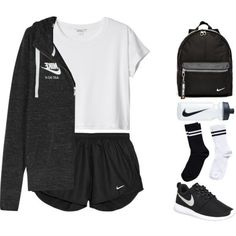 Cute Sporty Outfits, Cute Workout Outfits, Cute Lazy Outfits, Teenage Girl Outfits, Teenager Outfits, Teen Fashion Outfits, Swag Outfits, Grunge Outfits, Outfits For Teens