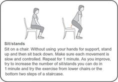 Sit/stand exercise for arthritis and hypermobility syndrome