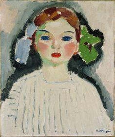 Kees van Dongen (Dutch fauvist painter): Portret of Dolly, 1904 Art Deco Paris, Art Fauvisme, Maurice De Vlaminck, L'art Du Portrait, Portraits, Raoul Dufy, Lucian Freud, Dutch Painters, Art Et Illustration
