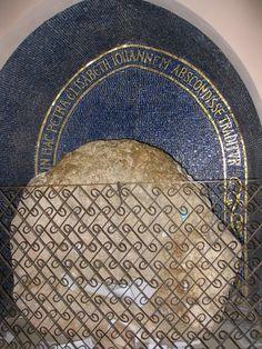 The Rock Which Hid Zechariah & Elizabeth