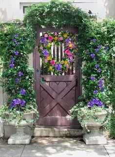 en güzel bahçe kapıları 17