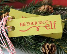 Be Your Best Elf Christmas Gift Tags by Scrap Bits.  $2.75