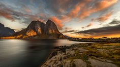 Hamnoy Sunrise by Irinel Cirlanaru on 500px
