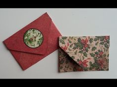 Mini Envelope for Pocket Letters without a Score Board - YouTube