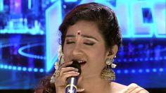 Shreya Ghoshal singing Mhara Re Giridhar Gopal-Meera Bhajan in Indian Voice Mazhavil Manorama Sonu Nigam, Bhakti Song, Krishna Songs, Music Love, The Voice, Music Videos, Singing, Concert, Indian