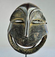 Masque HEMBA Soko Mutu Singe monkey Congo Art tribal africain ethnique kongo   eBay