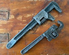 Antique Pipe Wrenches, Model T Ford Wrench, Trimo Monkey Wrench by Trimont, Early