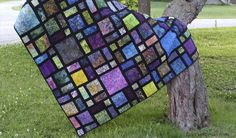 Scattered is one of my most popular quilt patterns - checout the way the Scattered quilt looks in different colorways and fabrics.
