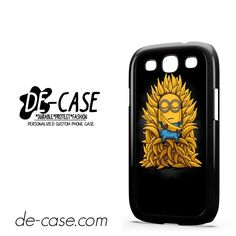 Minions Buddha Banana DEAL-7321 Samsung Phonecase Cover For Samsung Galaxy S3 / S3 Mini
