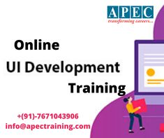 Join with APEC web development training (online and classroom) and make REAL web applications using cutting-edge technologies. Learn how to write browser-based games, create complex HTML forms with validations, portfolio sites, landing pages etc. Ui Developer, Training Online, Classroom Training, Best Computer, Portfolio Site, Web Technology, Online Web, Career Goals, Web Application