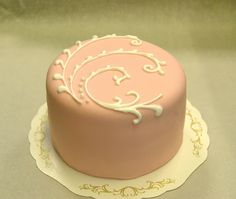 cake decorated with royal icing