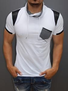 a real head tuner, a true show-stopper Casual Wear For Men, Mens Attire, Camisa Polo, Polo T Shirts, Sweater Shirt, Look Cool, Shirt Designs, Cool Outfits, Mock Neck