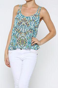 Shop Yetts Womens Color Blocked Peplum Top