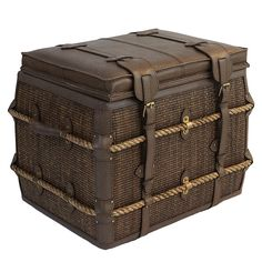 Rattan Equestrian Trunk - Sentosa Designs Horse Poems, Trunks And Chests, Island Girl, Tropical Decor, Dream Decor, Rattan, Guest Room, Equestrian, My House