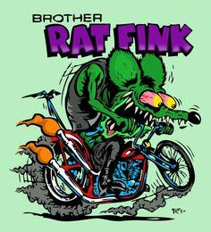 59 Best Rat Fink Images Rat Fink Drawings Kustom Kulture