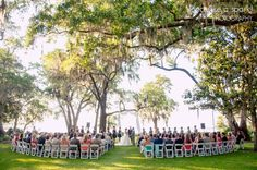 gorgeous venue, beautiful backyard wedding, private residence wedding, florida wedding, outdoor wedding, ceremony candids, getting married, florida wedding photography :: Rachel + John's Wedding at a Private Residence in Santa Rosa Beach, FL :: with Nikki