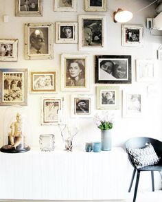 old photos gallery wall