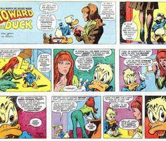 Howard the Duck Marvel Comics, 1973 Steve Gerber