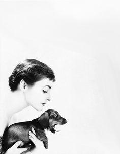Photo by Lillian Bassman for Harper's Bazaar, ca. 1954