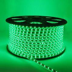 SMD3528 High Voltage 110&220V Color Change LED Strips, Waterproof IP67, 60LEDs Per Meter, 50&100 Meter (164&328ft) Per Reel By Sale
