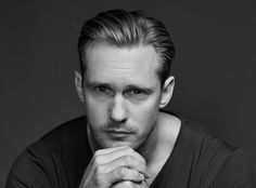 Exclusive Portraits of Stars at #Sundance2015 by Christopher Ferguson - Alexander Skarsgard of 'The Diary of a Teenage Girl' from #InStyle