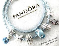 Elija auténticos Pandora pulsera pulsera por RobinsNestJewels