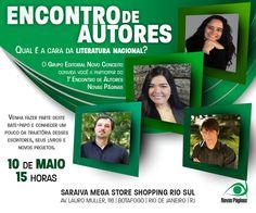 #Evento: 1º Encontro de Autores #NovasPaginas com #FelipeColbert, #GracielaMayrink, #MauricioGomyde e #TammyLuciano ( @Grupo Editorial Novo Conceito  ) http://www.leitoraviciada.com/2014/04/1-encontro-de-autores-novas-paginas.html