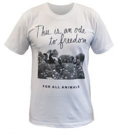 peta2 Ode to Freedom Unisex T-Shirt love!