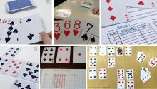for Math Card Games, Card Games For Kids, Kid Games, Subtraction Activities, Fun Math Activities, Teacher Calendar, Printable Board Games, Free Printable, Cards On The Table